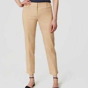 NWT LOFT Riviera Pant Cropped Marisa Fit Pants 6P